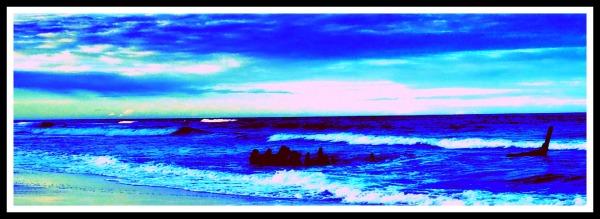 dicky beach, anchor